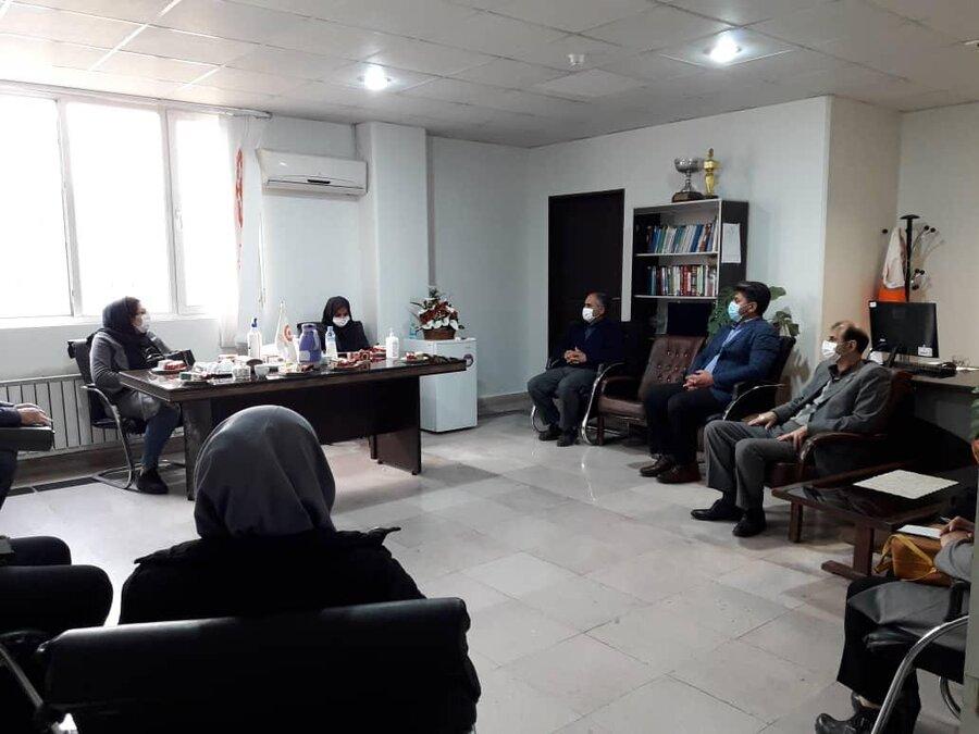 ملارد|برگزاری نشست تعاملی مدیران مراکز توانبخشی
