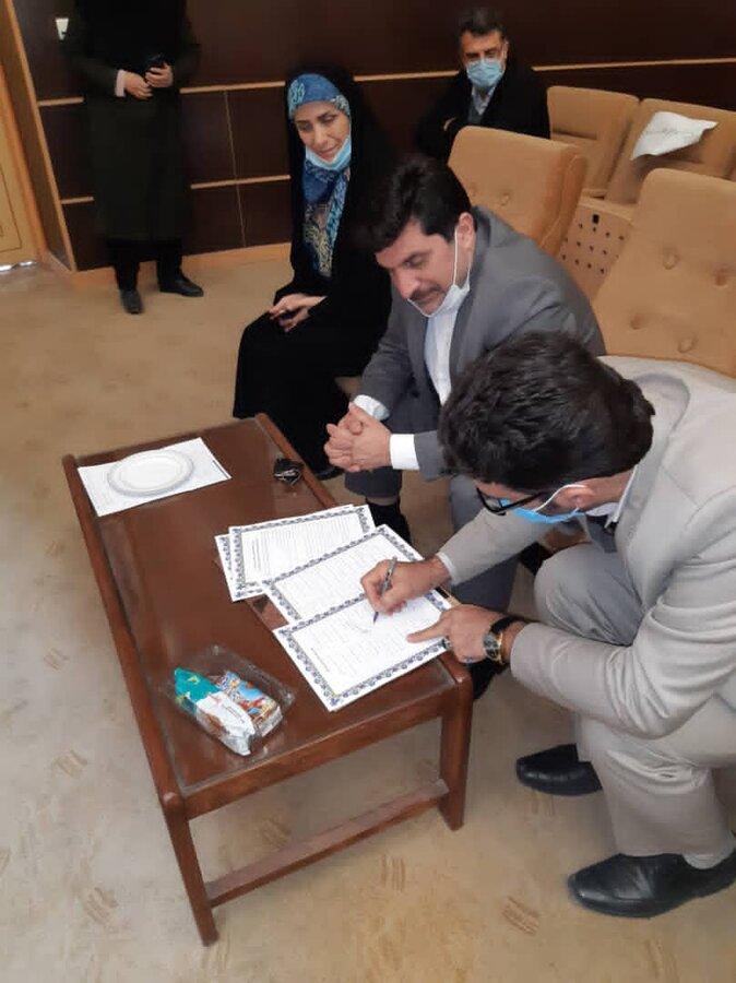 اسلامشهر| امضای تفاهم نامه همکاری طرح پیشگام خدمات جامع سلامت روانی و مراقبت اجتماعی