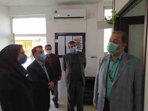 گزارش تصویری   بابل  بازدید مدیر کل بهزیستی مازندران از اداره بهزیستی و اورژانس اجتماعی شهرستان بابل