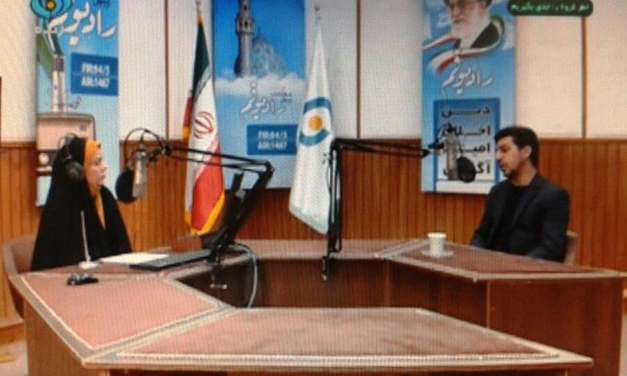 تشریح خدمات خط ملی اعتیاد در برنامه رادیوئی بدون تعارف