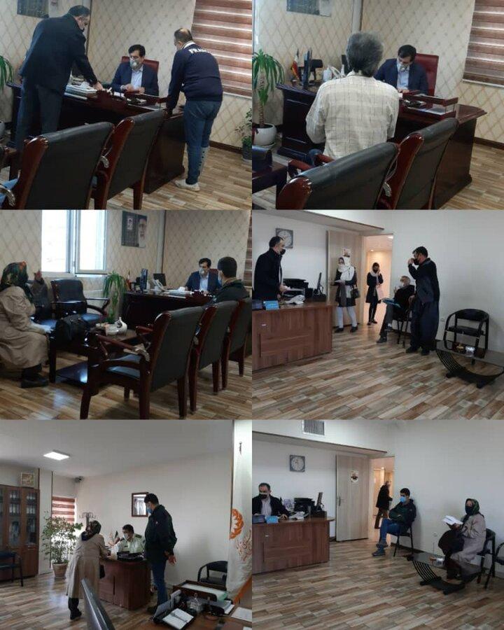 مدیرکل بهزیستی میزبان چهارشنبه های مددجویان البرزی