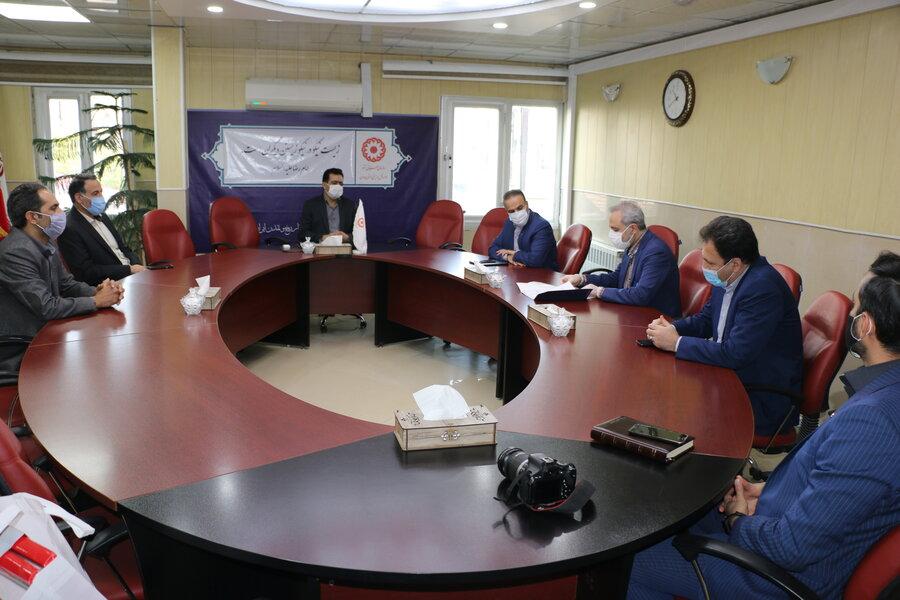 بررسی زمینه های گسترش همکاری با بانک رفاه