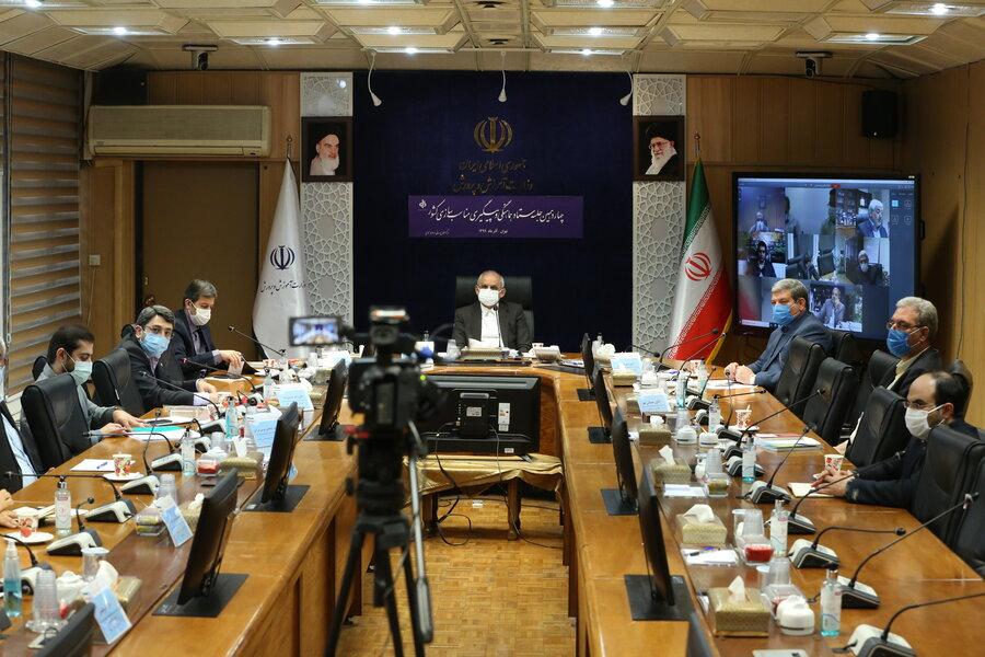 گزارش تصویری| جلسه ستاد هماهنگی مناسب سازی کشور با حضور وزیر آموزش و پرورش