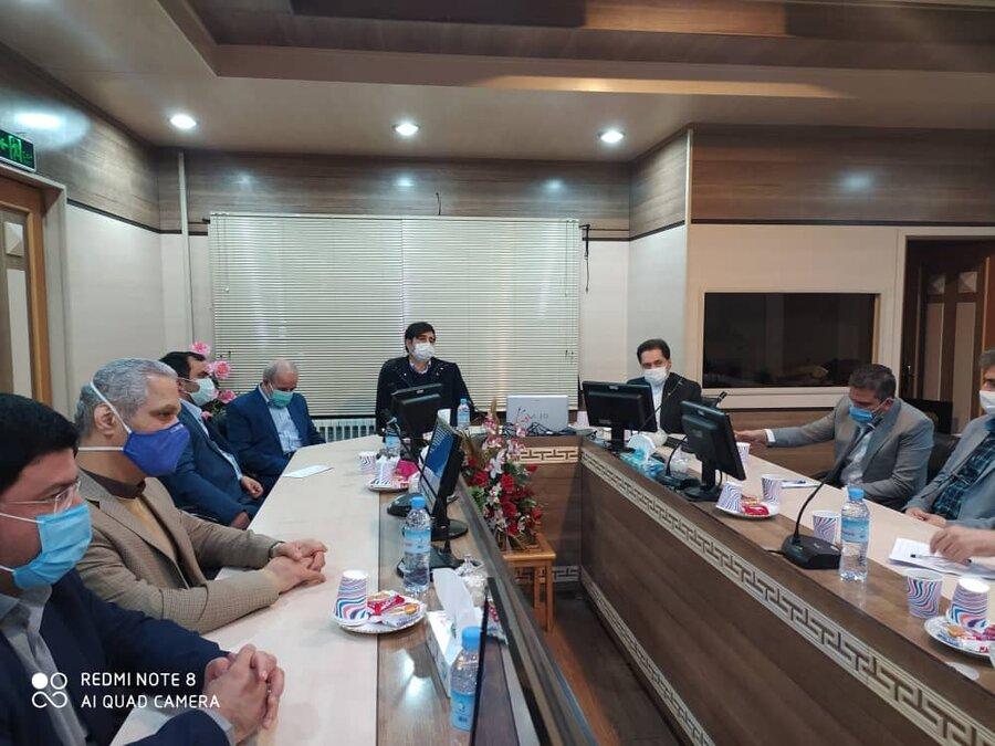 نشست مدیرکل بهزیستی گیلان با رئیس مجمع نمایندگان استان