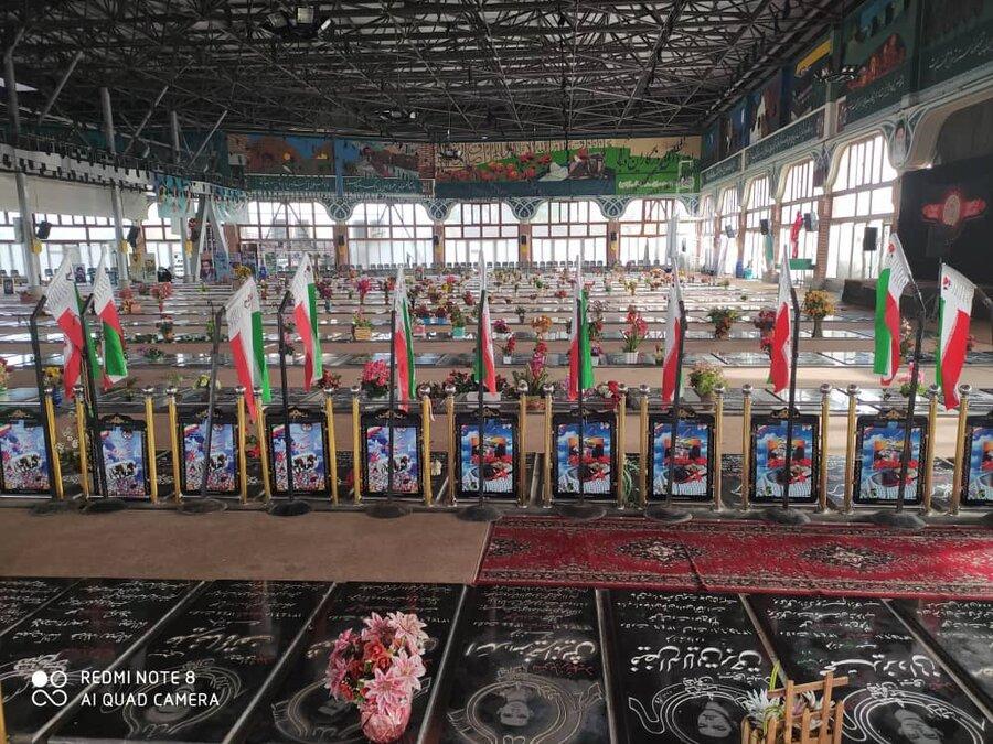 تجدید میثاق با آرمانهای شهدای انقلاب اسلامی به مناسبت هفته بسیج
