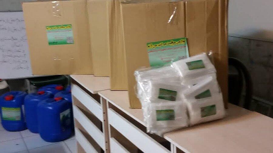 پاکدشت| مجمع خیرین تجهیزات پزشکی کشور به بهزیستی شهرستان لوازم بهداشتی هدیه داد
