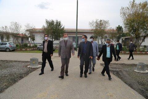 بازدید معاون سیاسی امنیتی و اجتماعی استانداری مازندران از روند راه اندازی مجدد مرکز ماده ١۶