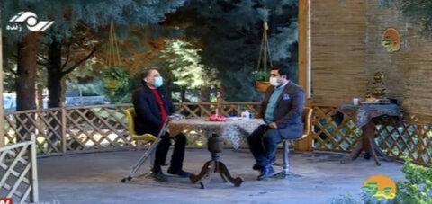 پخش اخبار بهزیستی توسط کارشناس بهزیستی به عنوان گوینده اخبار حوزه معلولین بهزیستی البرز