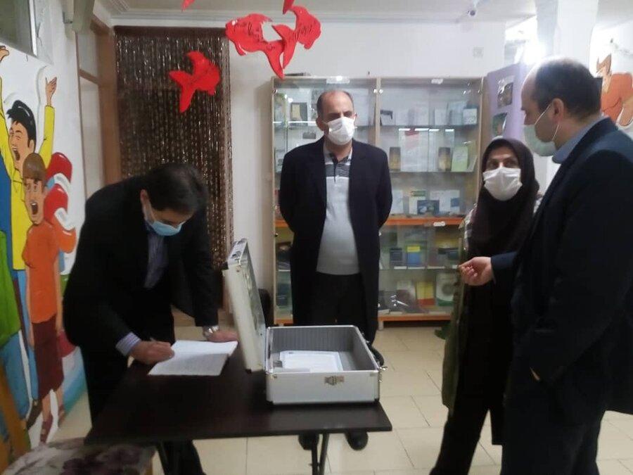 بازدید مدیرکل بهزیستی گیلان از نمایشگاه دائمی پیشگیری از مواد مخدر در گیلان