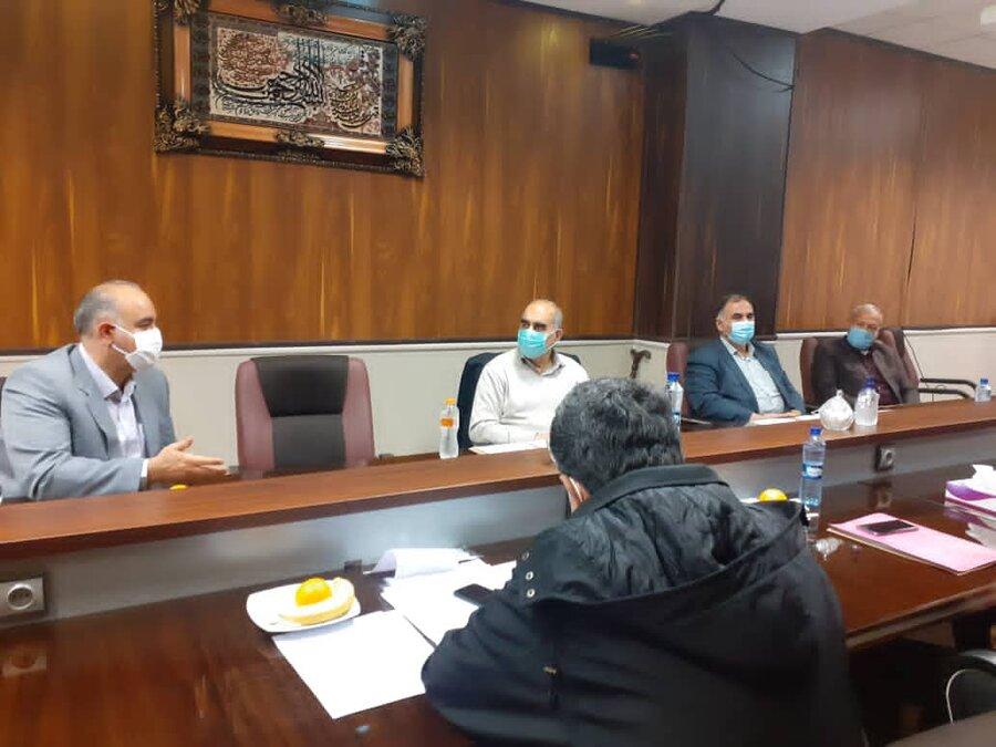 پاکدشت تشکیل جلسه کمیته مناسب سازی اماکن عمومی