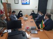 حضور نماینده مردم علی آباد در مجلس در اداره بهزیستی شهرستان به مناسبت روز معلولان