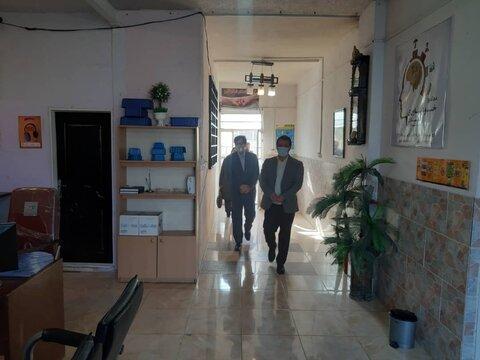 بازدید میدانی از مراکز اقامتی - نگهداری البرز