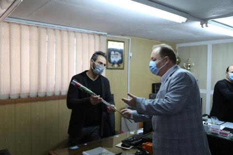 گزارش تصویری   تقدیر مدیر کل بهزیستی مازندران از همکاران دارای معلولیت