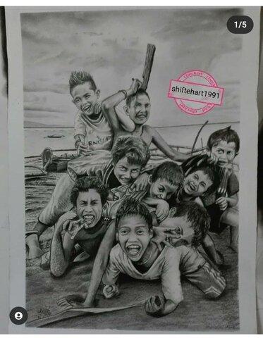 گزارش تصویری| نمایشگاه نقاشی معلول ایلامی