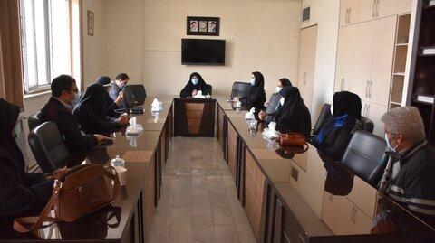گزارش تصویری  تقدیر مدیرکل بهزیستی استان کرمانشاه از روسای انجمن های معلولین