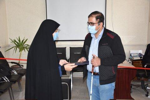 گزارش تصویری| تقدیر مدیرکل بهزیستی استان کرمانشاه از روسای انجمن های معلولین