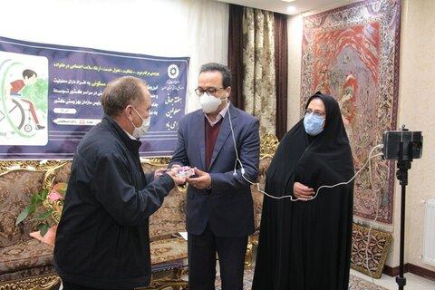 گزارش تصویری | افتتاح مسکن مددجویی