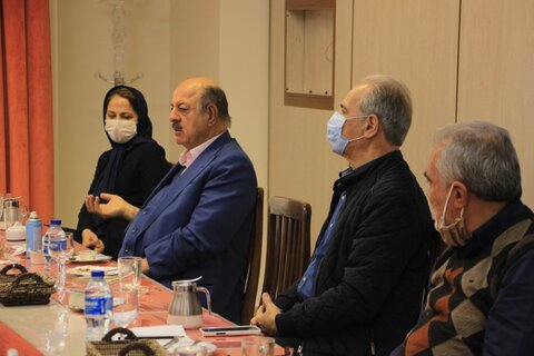 گزارش تصویری| بازدید معاون توانبخشی بهزیستی استان تهران از آسایشگاه کهریزک