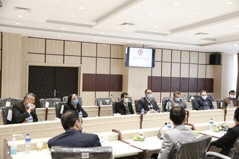 گزارش تصویری | برگزاری جلسه ستاد مدیریت بحران اداره کل بهزیستی گلستان