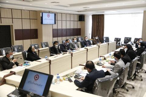 برگزاری جلسه ستاد مدیریت بحران اداره کل بهزیستی گلستان