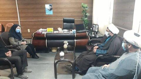 حضور امام جمعه زهک در اداره بهزیستی این شهرستان به مناسبت هفته گرامیداشت افراد دارای معلولیت