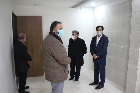 گزارش تصویری | دکتر حیدری از اولین مرکز نیکوکاری درمانی در حال ساخت استان البرز بازدید کرد