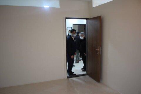 دکتر حیدری از اولین مرکز نیکوکاری درمانی در حال ساخت استان البرز بازدید کرد