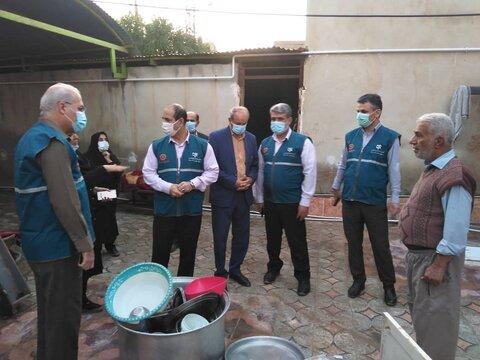 بازدید نمایندگان رئیس سازمان بهزیستی کشور از منازل مددجویان در مناطق سیل زده استان های جنوبی کشور
