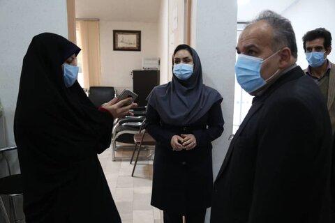 گزارش تصویری / بازدید دکتر رضوان مدنی معاون پیشگیری سازمان بهزیستی کشور از اولین مرکز درمان و بازتوانی معتادان کردستان