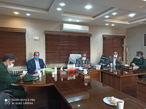 نشست فرمانده پایگاه بسیج بهزیستی کشور با اعضای پایگاه بسیج شهید فیاض بخش یزد