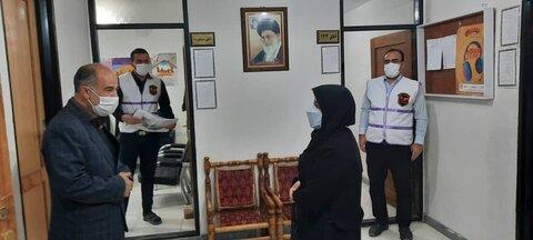 گزارش تصویری/ بازدید مدیرکل بهزیستی آذربایجان شرقی از مرکز ۱۲۳ شهرستان هریس