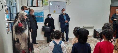 گزارش تصویری| بازدید مدیرکل با حضور فرماندار شهرستان از مرکز نگهداری کودکان هریس