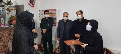 گزارش تصویری/ آیین افتتاح مسکن مددجویی و معلولان در شهرستان هریس