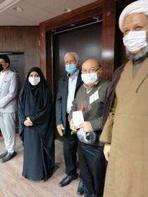 گزارش تصویری  از پرستاران مرکز سالمندان  بهزیستی کارون تقدیر شد