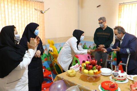 گزارش تصویری | تجلیل از پرستاران شیرخوارگاه بهزیستی استان یزد