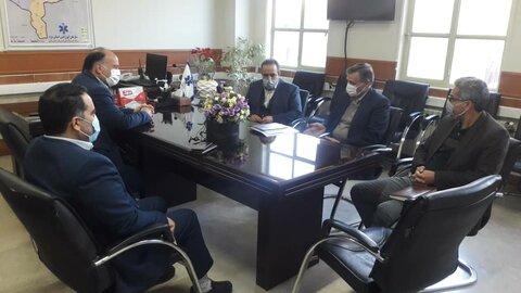 گزارش تصویری | جلسه مشترک مدیرکل، معاونین توانبخشی و اجتماعی بهزیستی استان با مسئولین سازمان اورژانس ۱۱۵ استان یزد