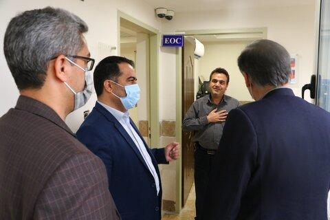 جلسه مشترک مدیرکل، معاونین توانبخشی و اجتماعی بهزیستی استان با مسئولین سازمان اورژانس ۱۱۵ استان یزد
