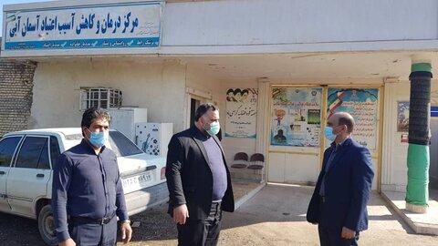 گزارش تصویری|بازدید دادستان  از کمپ های ترک اعتیاد بهزیستی آبادان