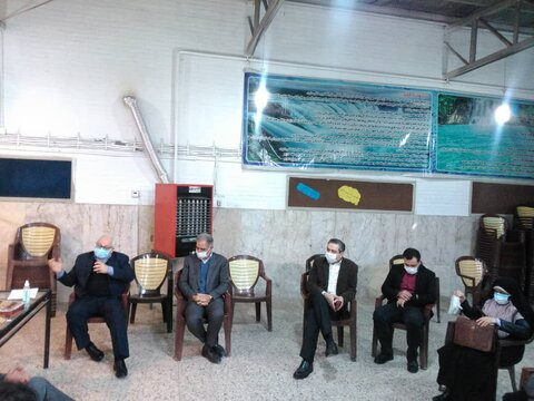 بازدید مدیرکل پیشگیری و درمان اعتیاد سازمان بهزیستی کشور از مرکز جامع درمان اعتیاد در مشهد