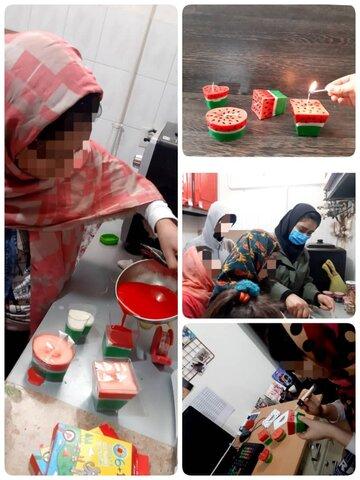 شب یلدا در مراکز نگهداری زنجان