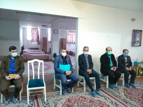 بازدید مدیر کل دفتر امور آسیب دیدگان اجتماعی سازمان بهزیستی کشور از مراکز آسیب های اجتماعی مشهد