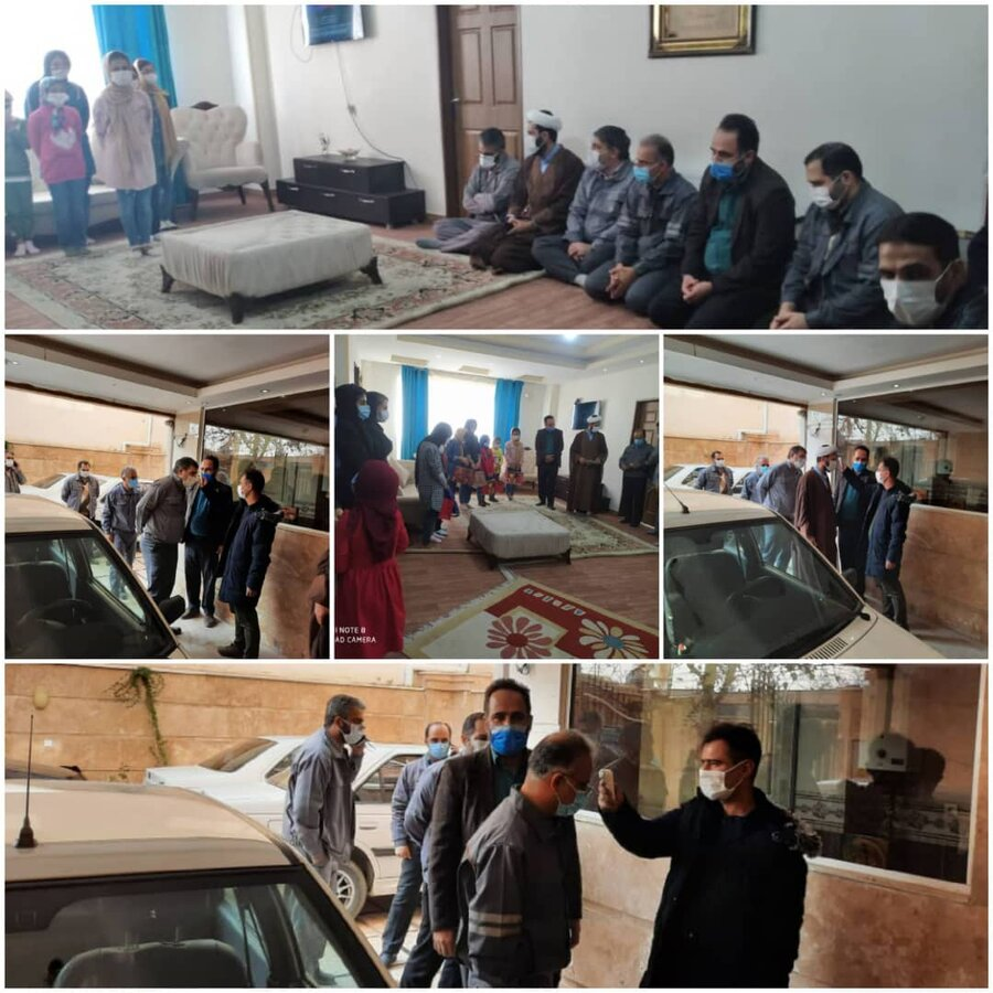 نظرآباد | بازدید از مرکز نگهداری دختران طلوع مهر علی تحت نظارت بهزیستی