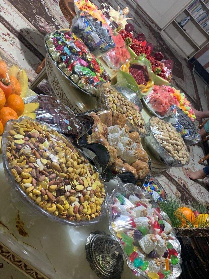 پاکدشت|برگزاری مراسم شب یلدا در مراکز شبه خانواده