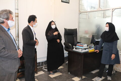 گزارش تصویری  سفر مدیر کل بهزیستی استان به شهرستان کیار