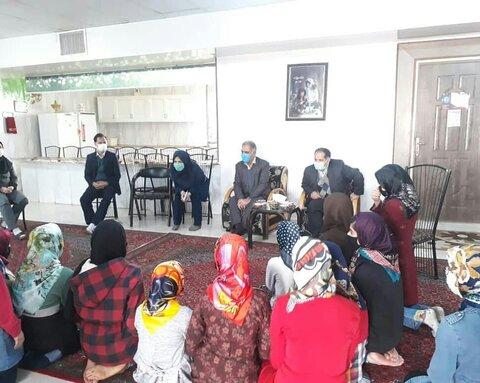 بازدید معاون امور اجتماعی سازمان بهزیستی کشور ازچند مرکز در شهرستان تربت حیدریه