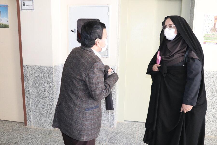 گزارش تصویری| سفر مدیر کل بهزیستی استان به شهرستان کیار