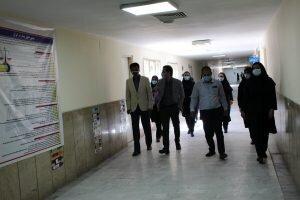 بازدید رئیس بهزیستی جیرفت از بخش اعصاب و روان بیمارستان امام خمینی (ره) به مناسبت هفته سلامت روان