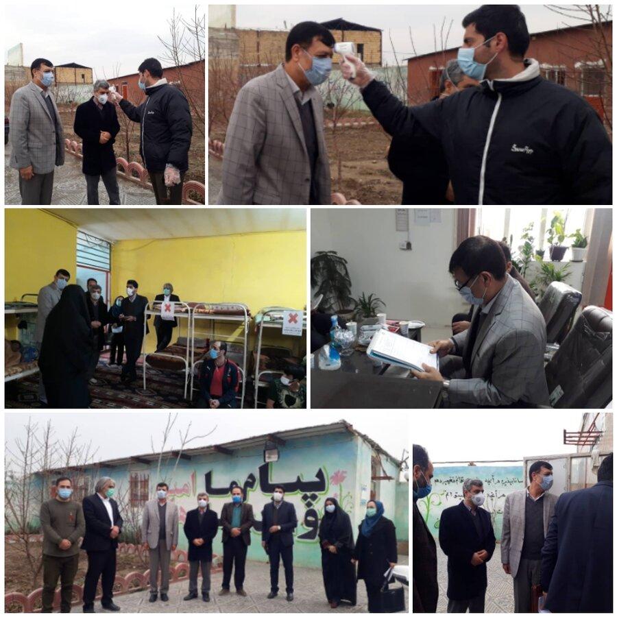 نظرآباد | بازدید دادستان شهرستان نظرآباد از مرکز پیام بهبودی ایرانیان