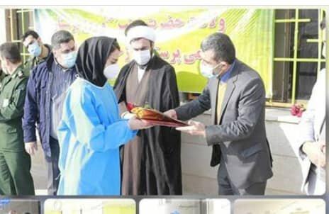 فیروزکوه|تجلیل بهزیستی از پرستاران بیمارستان امام خمینی (ره)