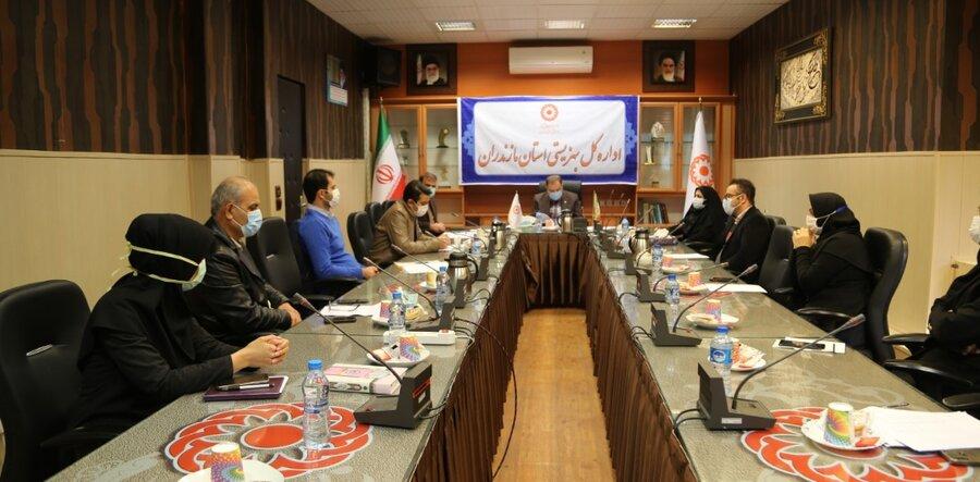 نشست تخصصی مدیر کل بهزیستی مازندران با کارشناسان ستادی معاونت توانبخشی بهزیستی استان برگزار شد